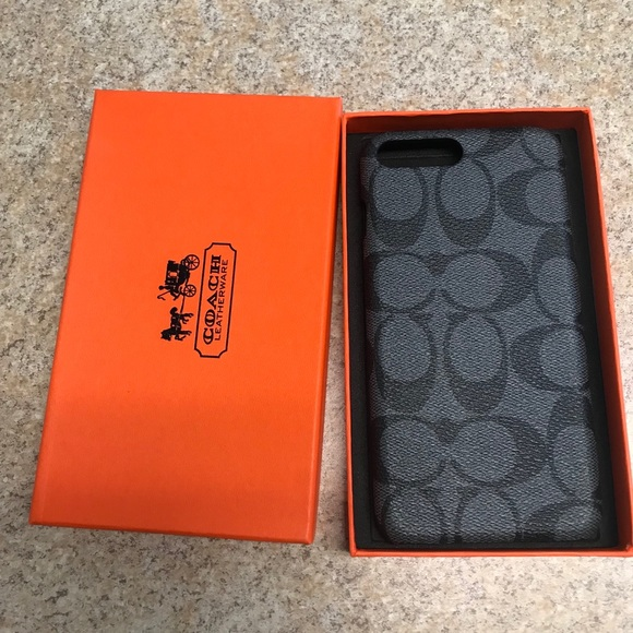 online store 2c058 6c4ac Coach iPhone 7 Plus/iPhone 8 Plus case (authentic) NWT